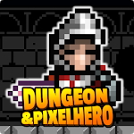 Pixel Hero and Dungeon - Retro RPG