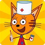 Three Cats Doctor/ Три Кота Доктор - Детский Доктор от СТС! Врач игра