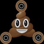 Mr. Hankey Poop Fidget Spinner Emoji Polarized