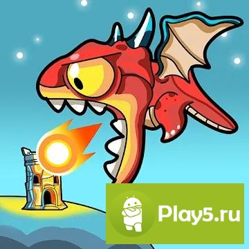 Idle Dragons - Merge, Tower Defense, Idle Games