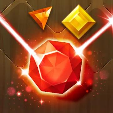 Jewel Match 3 Puzzle: Квест лазерного блока